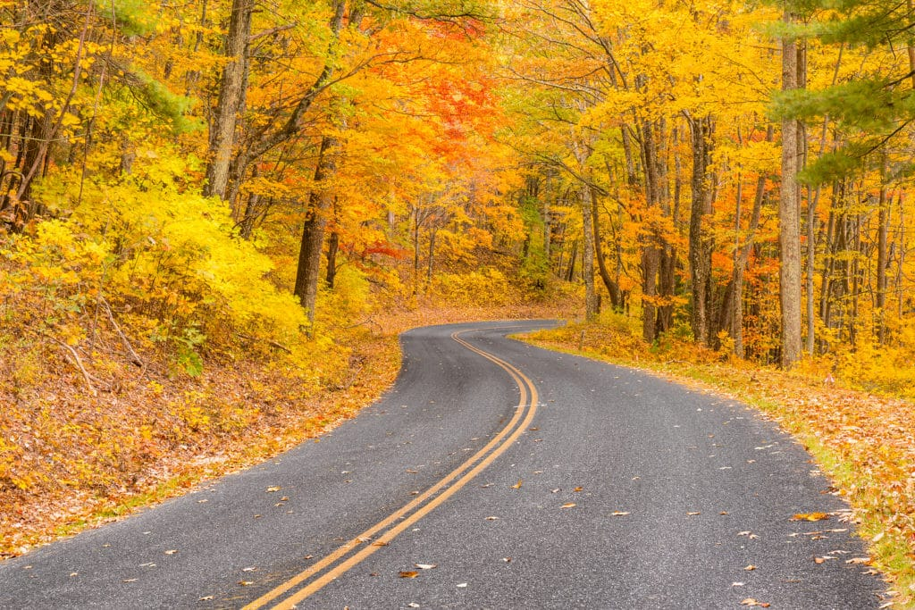 Fall Scenic Drives Near our Galena Bed and Breakfast